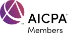 An image of the AICPA Members logo for SME CPA.